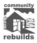Community Rebuilds logo