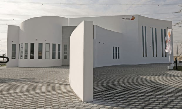 Building Constructed from 3D Printed Soil in Dubai